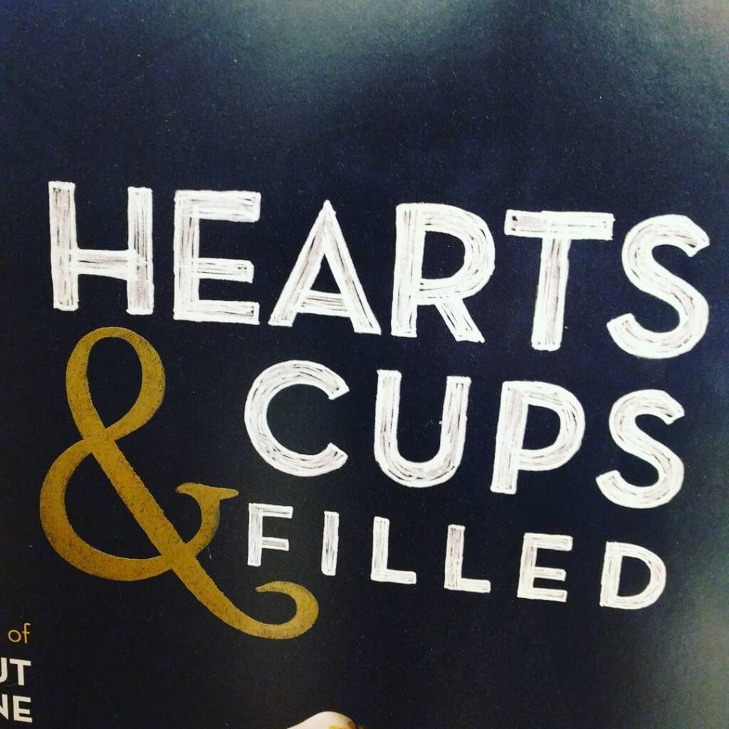 hearts & cups filled