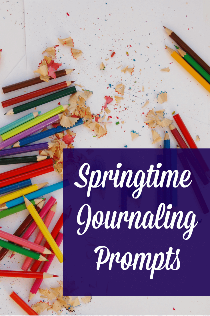 springtime journaling prompts