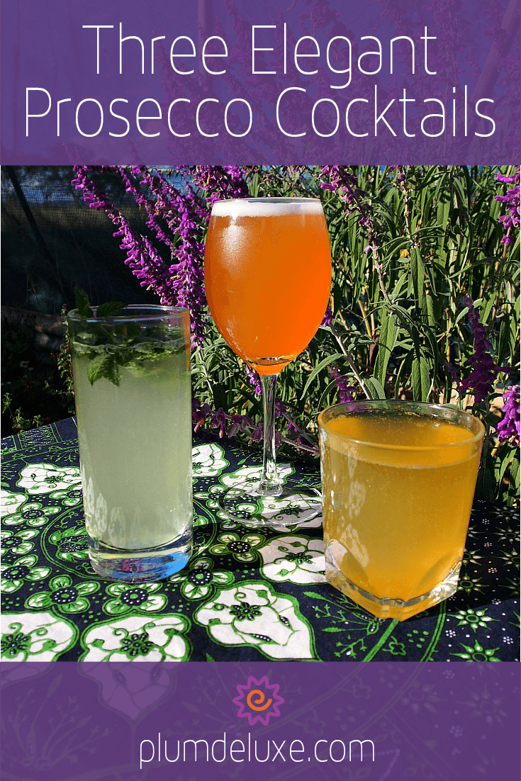 easy champagne cocktails