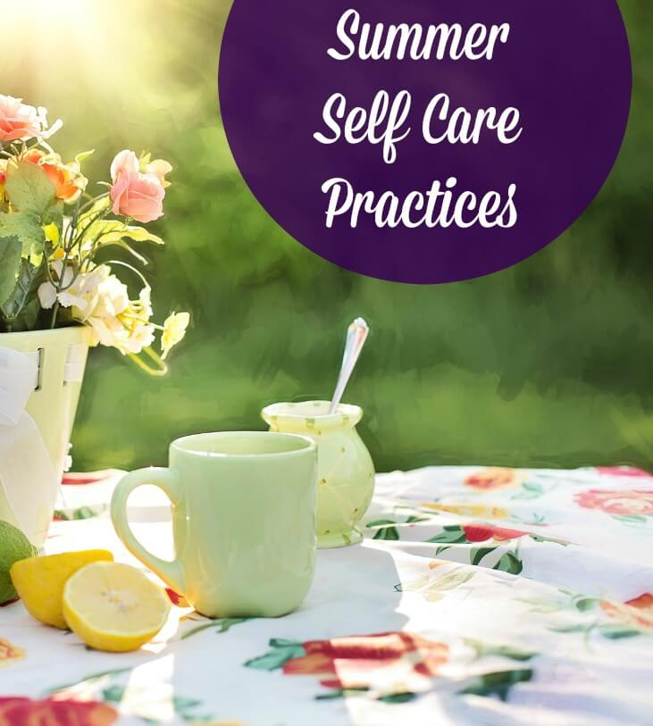 summer self care practices