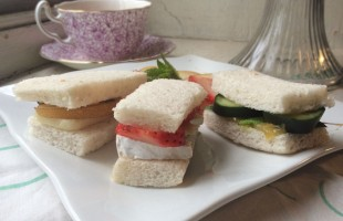 fruit tea sandwiches