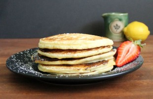lemon ricotta pancake recipe