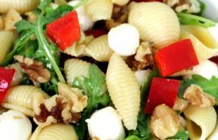 arugula walnut pasta salad recipe