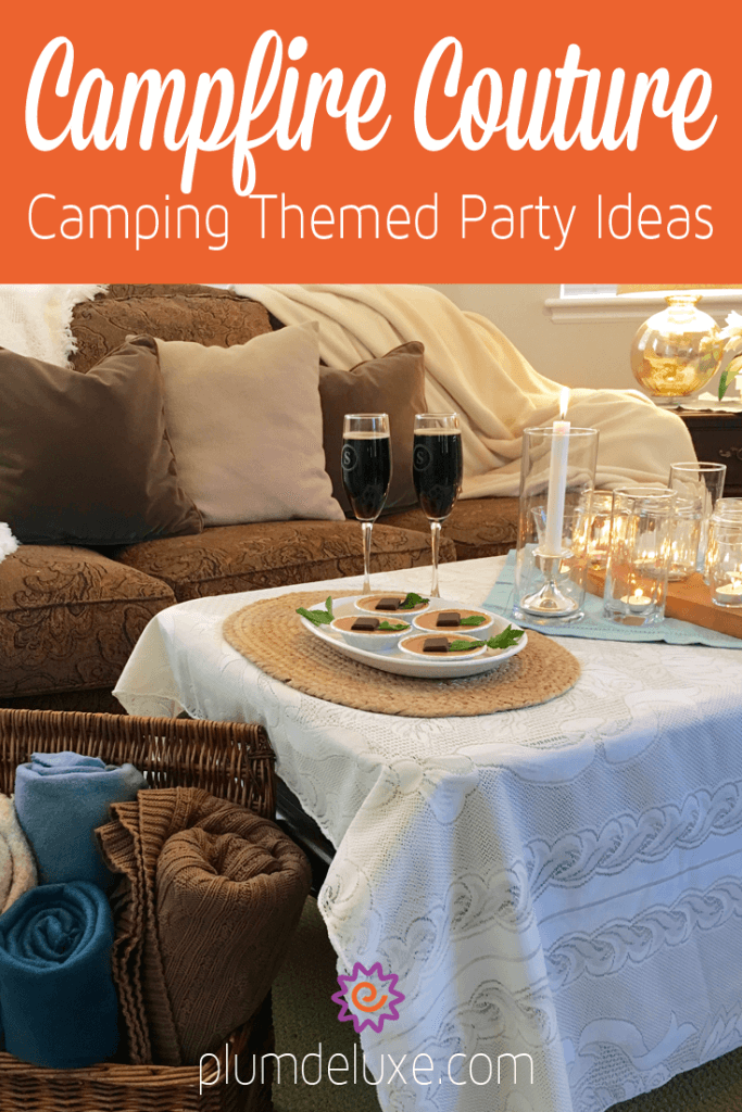 camping themed party ideas