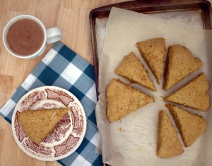 carrot cake scones recipe