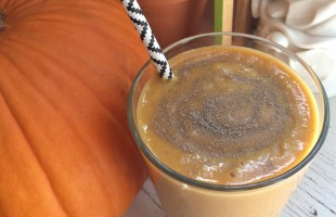 pumpkin spice tea smoothie