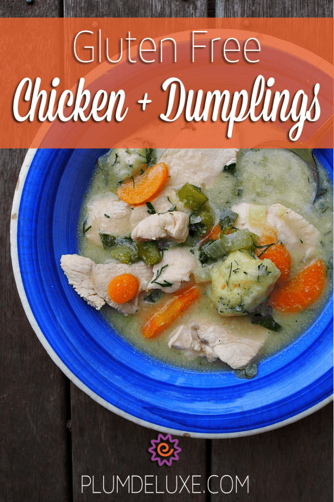 gluten free chicken dumplings