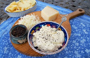 Parmesan Peppercorn Party Dip