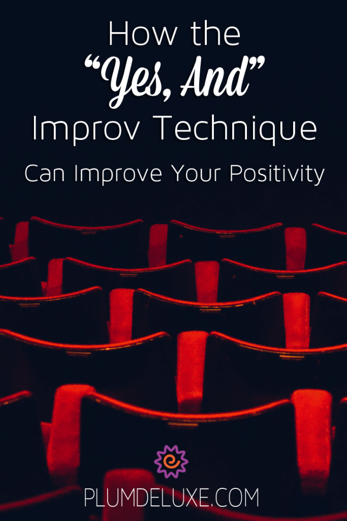 improv for positivity