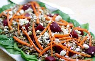 wild rice lentil salad recipe