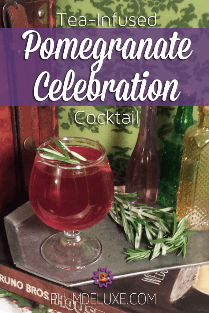 celebration tea cocktail