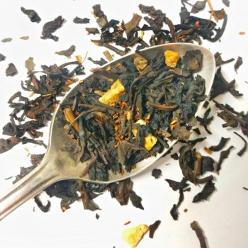 maple almond oolong tea
