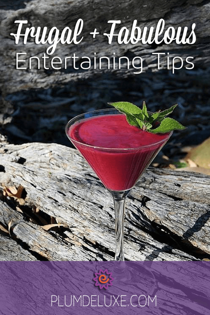 frugal entertaining tips