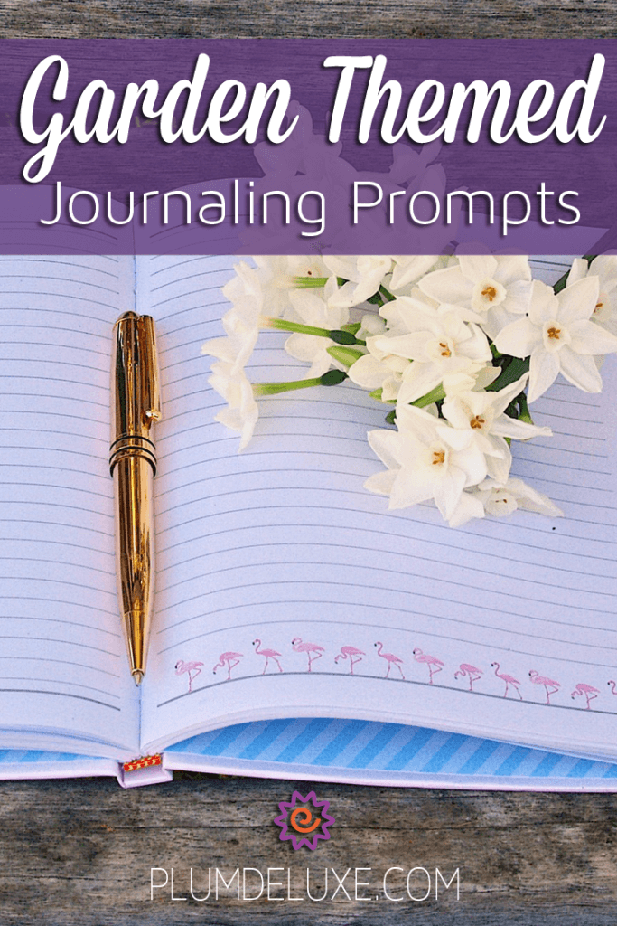 garden themed journaling prompts