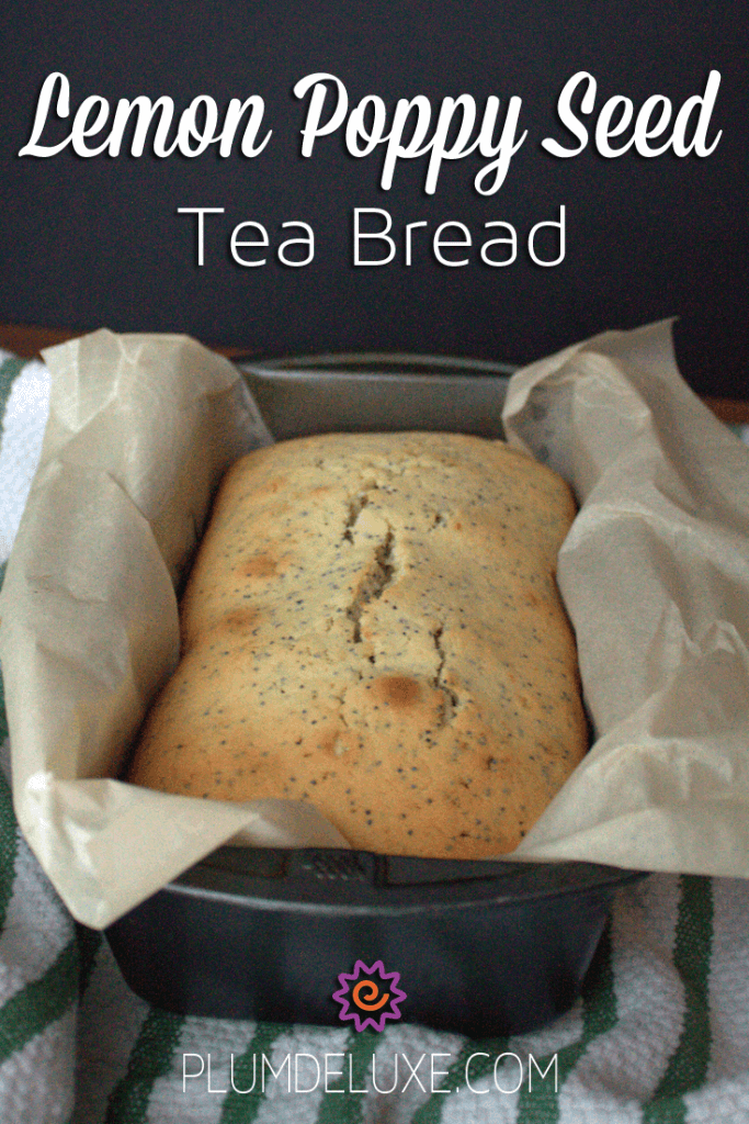 lemon poppy seed tea bread
