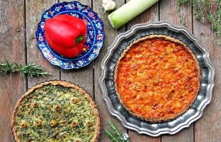 savory vegetable tarts gluten free crust