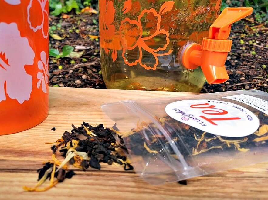 loose leaf - making the best tea for sun tea