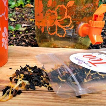 loose leaf tea - the best tea for sun tea