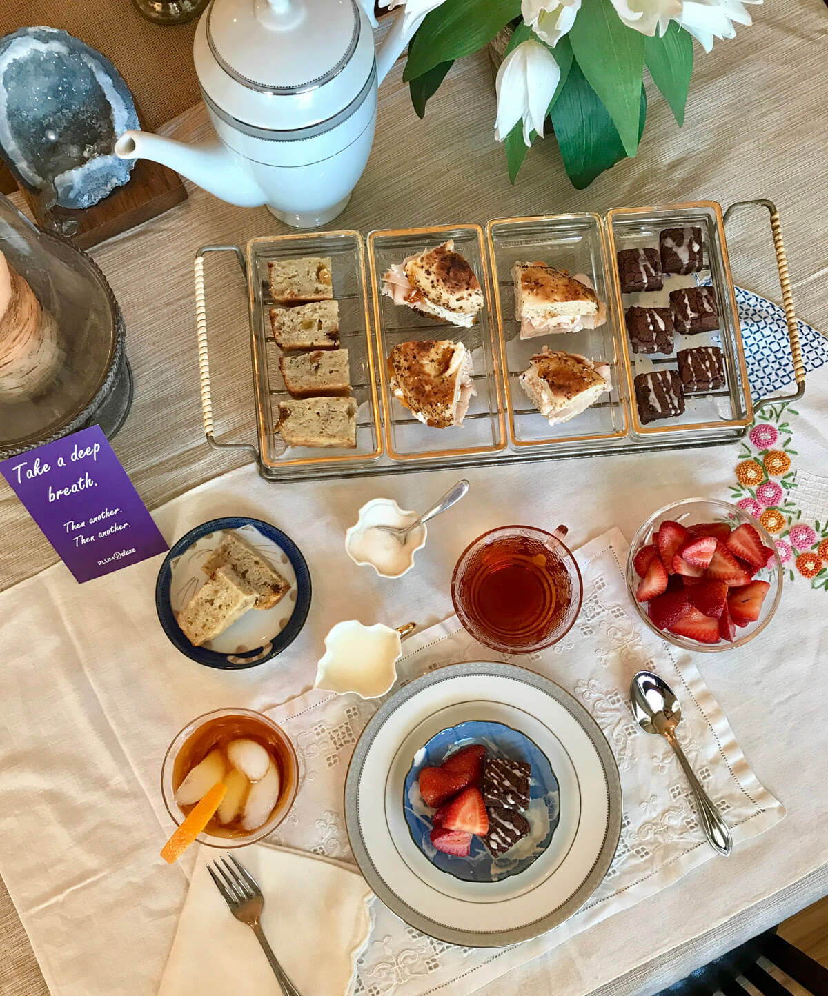 english tea party ideas