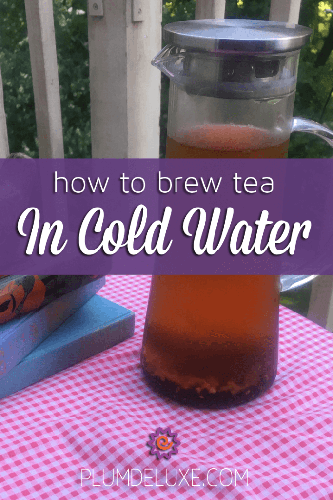 can you brew tea in cold water