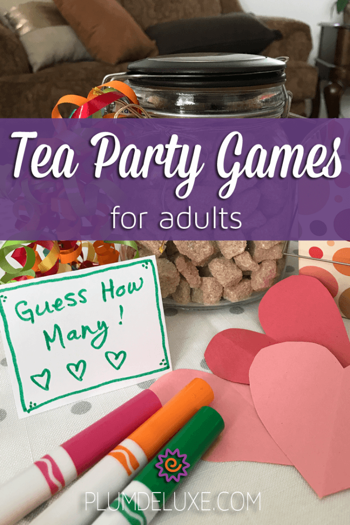 Tea Party Games for Adults