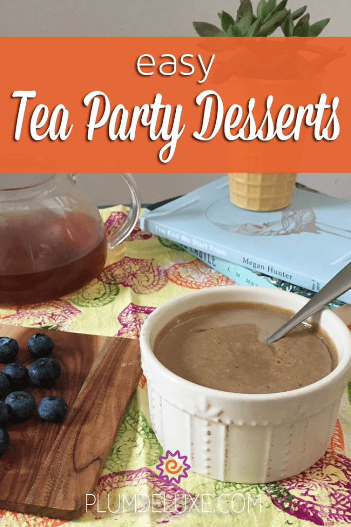 Easy Tea Party Desserts