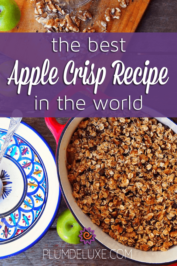 Best Apple Crisp Recipe In the World