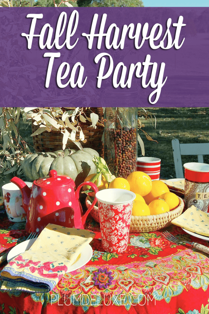 Fall Harvest Tea Party