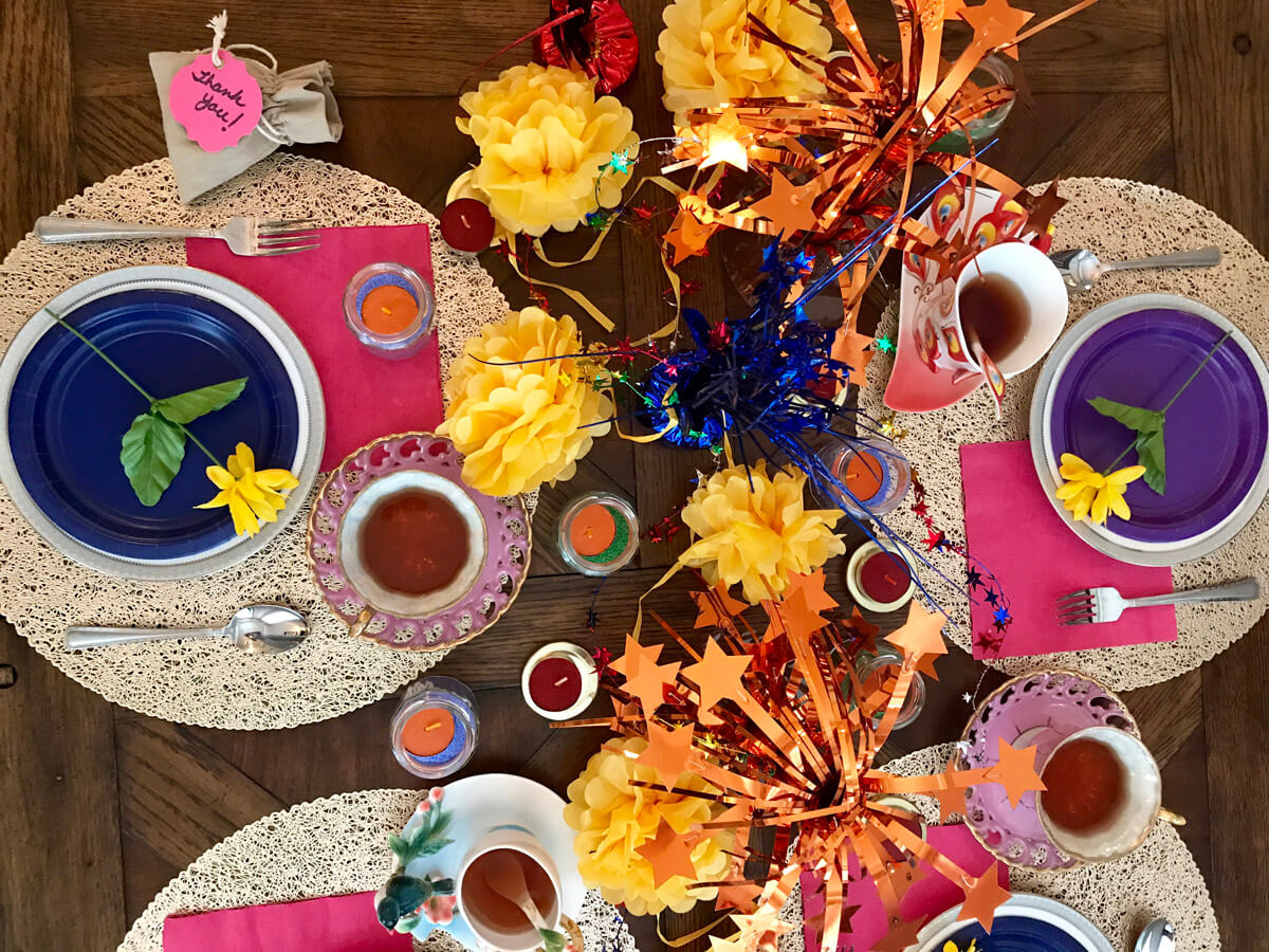 Bright And Cheery Diwali Party Ideas