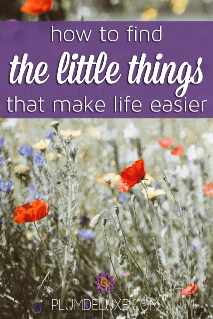 How to Find The Little Things That Make Life Easier
