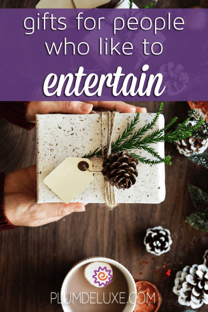 The best gifts for people who like to entertain are ones that make the entertaining even easier. Here are some fun and simple ideas.