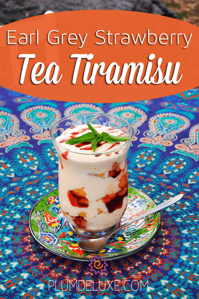 Take your tiramisu game in an entirely new, and utterly delicious, direction, by turning it into this Earl grey strawberry tea tiramisu.
