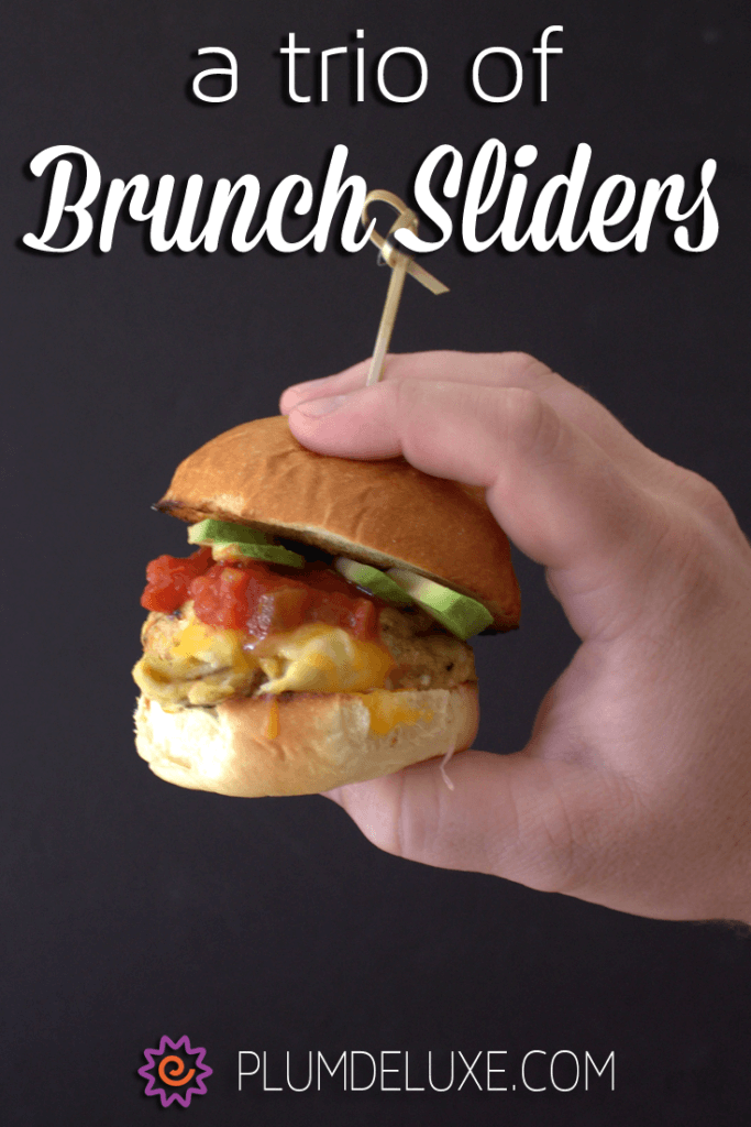 You'll want to serve up this yummy trio of brunch sliders at your next late-morning gathering.