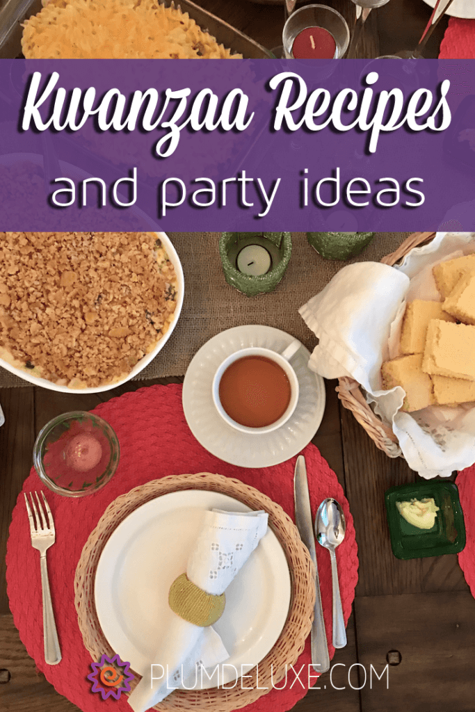 Throw a joyous celebration for your friends and family with the following Kwanzaa recipes and party ideas.