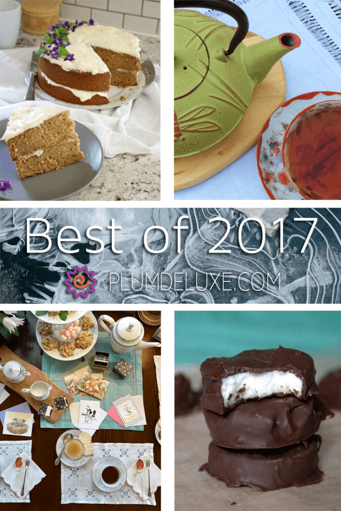 From tea rituals and letter writing parties to peppermint patties and Earl Grey tea cake, here are our most popular articles and blog posts from 2017.