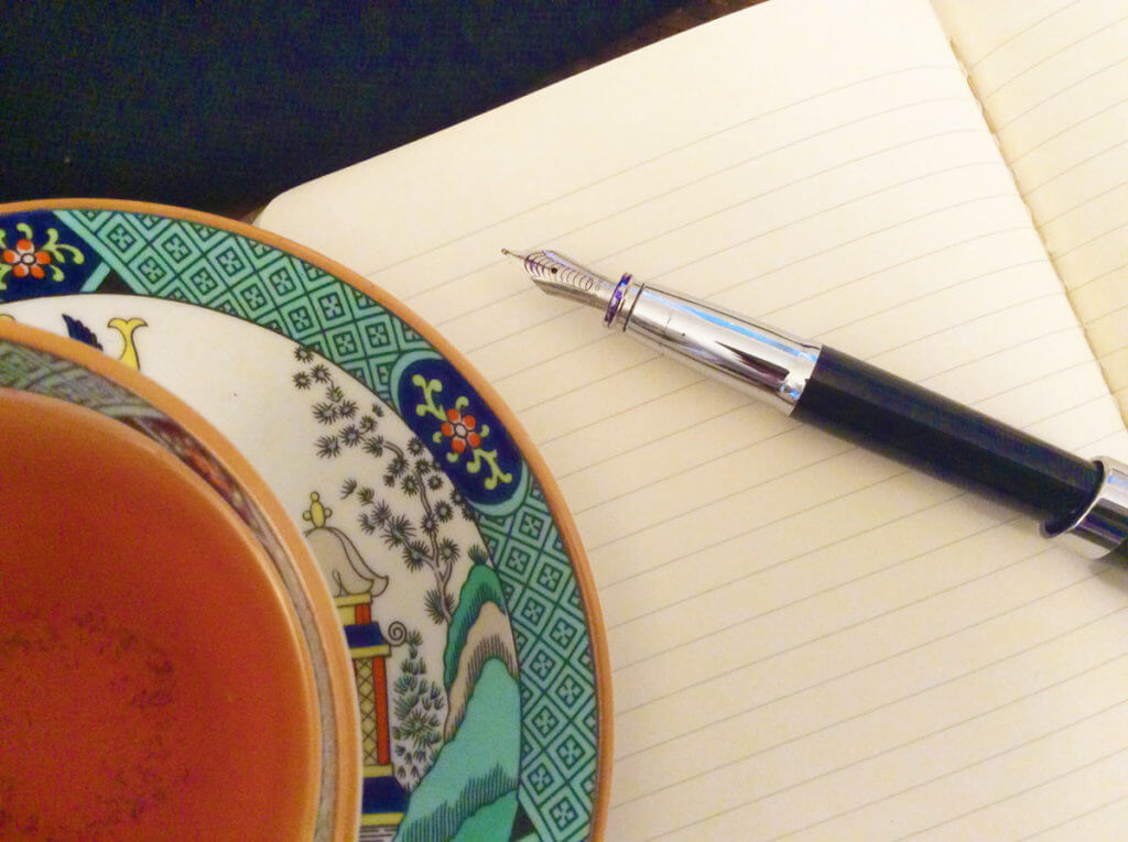 Enjoy more mindfulness at your next tea time with these tea-themed journaling prompts.