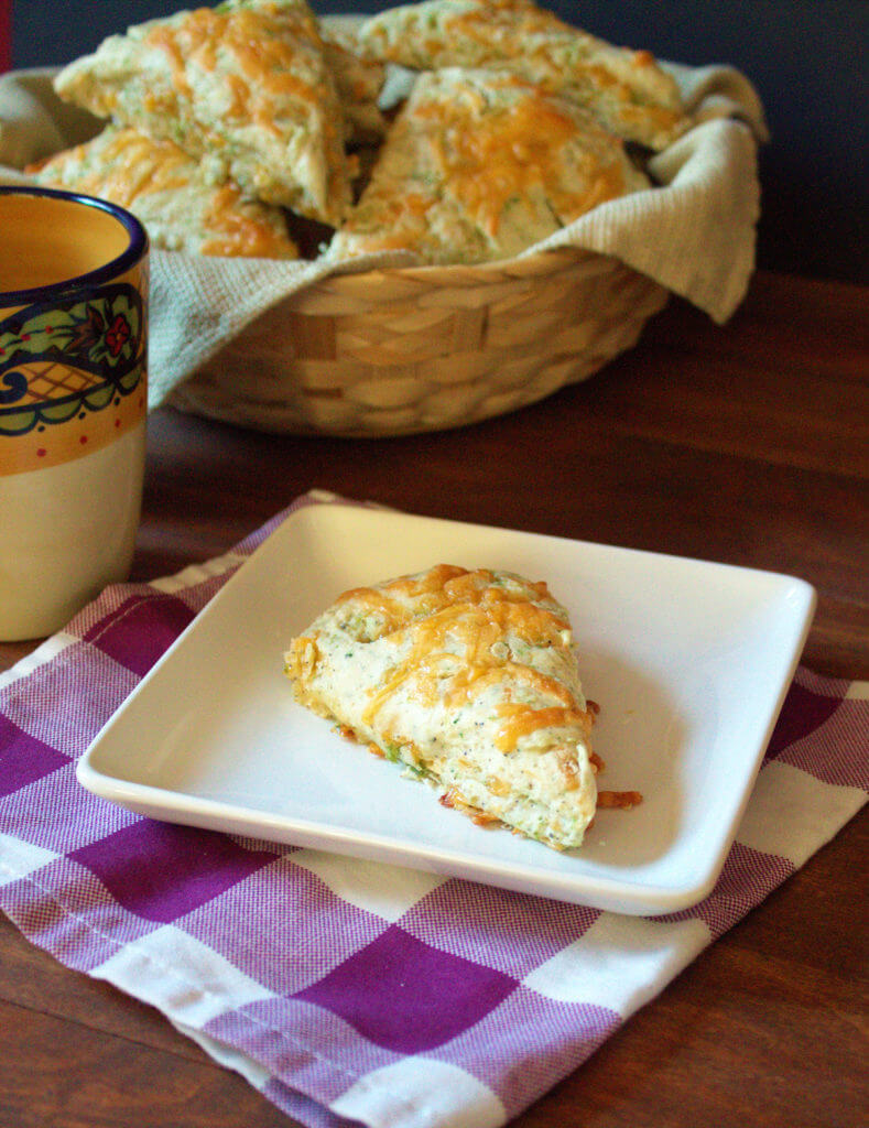 We are making a bold statement: This broccoli cheddar scone recipe is, in fact, the best savory scone recipe you will have this year, maybe even ever.