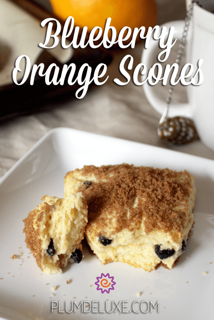These blueberry orange scones are perfectly tender and flakey, with traditional flavors and a wonderful caramelized sugar topping.