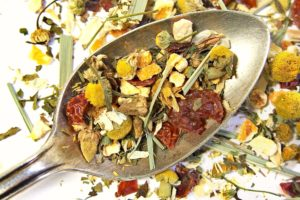 Cozy Tranquil Dream Herbal Tea (Rosehip/Spearmint)