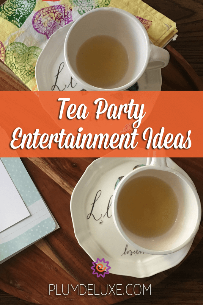 Coming up with tea party entertainment ideas can seem like a daunting task, but it needn't be. From food to drinks to game, we've got you covered.