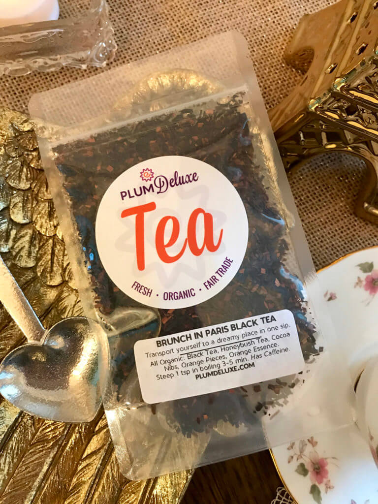Brunch In Paris loose leaf tea from Plum Deluxe
