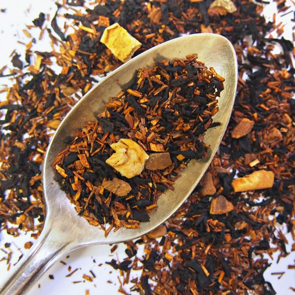 Buy Decaf Ginger Peach Black Tea Bags online Longevity Tea This bestselling tea fers the sweet lushness a fancy peach seasoned with the tingle