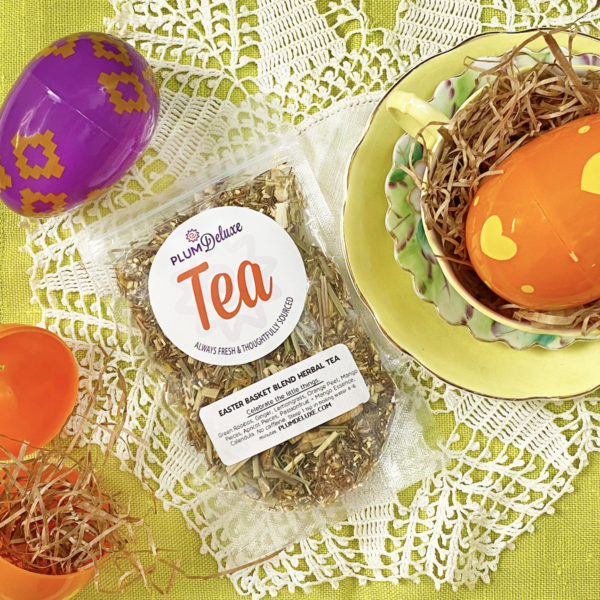 Easter Basket tea