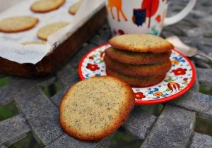 earl grey butter cookies