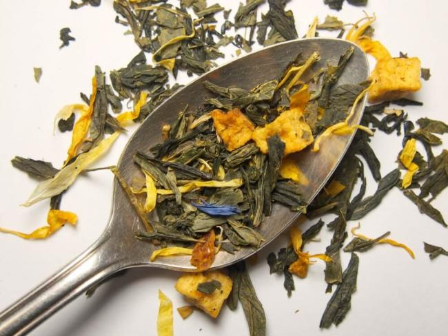 Queen's Blend Green Tea (Lemon Crème Earl Grey)