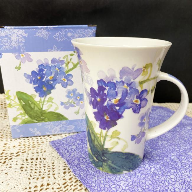 purple flower mug 1 square
